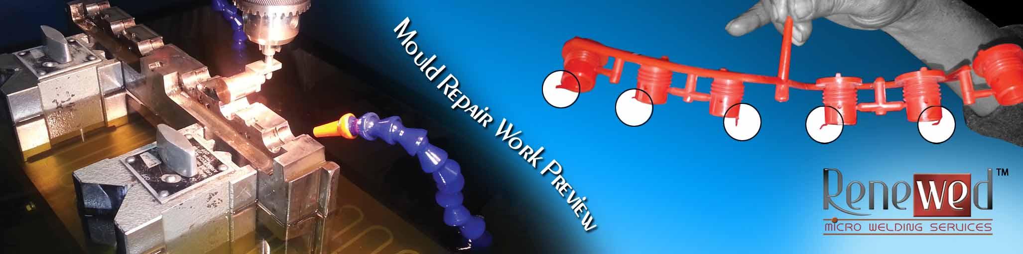 Mould Repair Work Preview